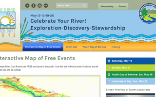 San Diego River Days Web Design | SDRPF