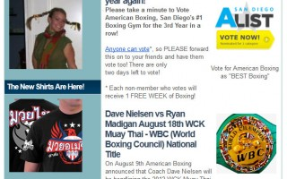 American Boxing | Newsletter